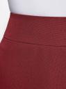 Юбка короткая базовая oodji #SECTION_NAME# (красный), 11600399-1B/14917/4900N - вид 4