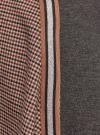 Юбка миди в клетку oodji #SECTION_NAME# (коричневый), 11600451/22124/3337C - вид 5