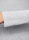Водолазка хлопковая oodji для женщины (серый), 15E02001B/46147/2001M