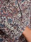 Жакет приталенный базовый oodji #SECTION_NAME# (розовый), 21203064-5B/14522/4175E - вид 5