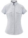 Рубашка хлопковая с нагрудными карманами oodji #SECTION_NAME# (белый), 13L02001B/45510/1279G
