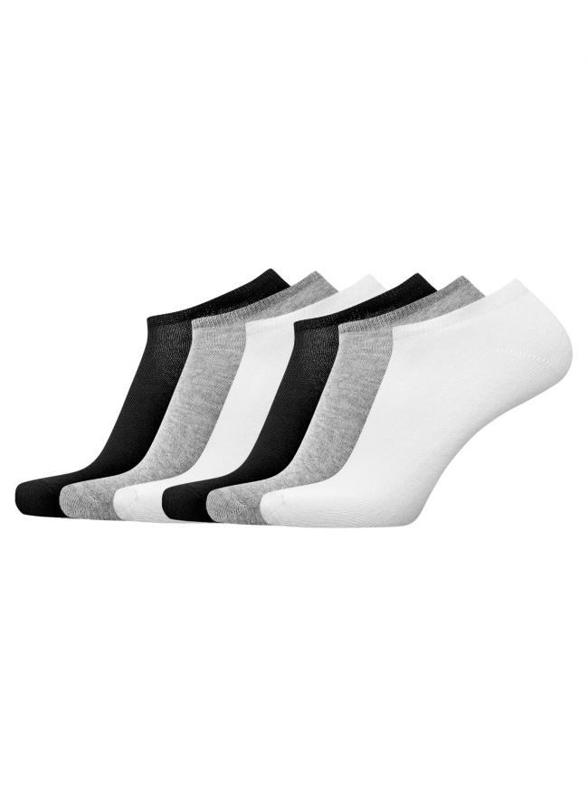 Комплект из шести пар носков oodji для мужчины (разноцветный), 7B261000T6/47469/1901N