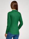 Рубашка базовая с нагрудными карманами oodji #SECTION_NAME# (зеленый), 11403222B/42468/6E00N - вид 3