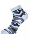 Комплект из трех пар укороченных носков oodji для женщины (разноцветный), 57102418T3/47469/23