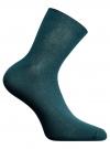 Носки вязаные в резинку oodji #SECTION_NAME# (зеленый), 57102467/10812/6E00N