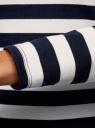 Платье базовое принтованное oodji для женщины (синий), 14011038-2B/37809/7912S