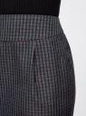Юбка короткая с карманами oodji #SECTION_NAME# (синий), 11605056-3/45839/7949C - вид 5