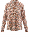 Блузка вискозная А-образного силуэта oodji #SECTION_NAME# (розовый), 21411113B/26346/5470E