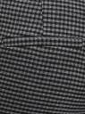 Брюки с отворотами и ремнем oodji #SECTION_NAME# (серый), 11703057-14/48498/2529C - вид 5