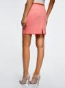 Юбка хлопковая с ремнем oodji #SECTION_NAME# (розовый), 11600397-2B/32887/4100N - вид 3