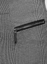 Юбка-карандаш с декоративными молниями oodji для женщины (серый), 24100026-2/46979/1029O