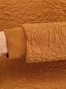 Свитшот базовый из фактурной ткани oodji #SECTION_NAME# (коричневый), 24801010-4/42316/5700N - вид 5