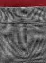 Брюки обтягивающие с декоративными молниями oodji #SECTION_NAME# (серый), 28600031-2/46979/1029O - вид 4