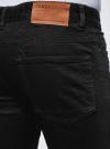 Джинсы slim в байкерском стиле oodji #SECTION_NAME# (черный), 6L100022M/47884/2900W - вид 5