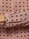 Блузка принтованная из вискозы с воротником-стойкой oodji #SECTION_NAME# (бежевый), 21411063-1/26346/3512F - вид 5