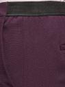 Брюки укороченные на эластичном поясе oodji для женщины (фиолетовый), 11706203-5B/14917/8801N