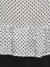 Блузка вискозная с воланами oodji #SECTION_NAME# (слоновая кость), 11405136/46436/3029D - вид 5