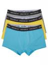 Комплект из трех трусов-боксеров oodji для мужчины (разноцветный), 7B111001T3/50141N/1906N