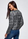 Куртка стеганая с круглым вырезом oodji #SECTION_NAME# (черный), 10203072B/42257/2923L - вид 3