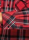 Платье-рубашка с карманами oodji #SECTION_NAME# (красный), 11911004-2/45252/4529C - вид 5