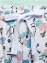 Пижама хлопковая с брюками oodji #SECTION_NAME# (зеленый), 56002200-5/46154/6510P - вид 5