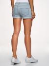 Шорты джинсовые базовые oodji #SECTION_NAME# (синий), 12807025-3B/46253/7000W - вид 3