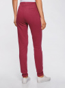 Комплект спортивных брюк (2 пары) oodji #SECTION_NAME# (синий), 16701010T2/46980/7949N - вид 3