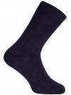 Носки базовые высокие oodji #SECTION_NAME# (синий), 7B213001M/47469/7900N - вид 3