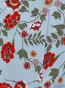 Жакет приталенный с рукавом 3/4 oodji для женщины (синий), 11204014-4B/42526/7045F