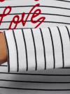 Футболка с длинным рукавом и воланами oodji для женщины (белый), 14208006-1/46147/1079S - вид 5
