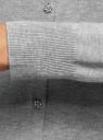 Жакет вязаный на пуговицах oodji #SECTION_NAME# (серый), 73212370/24087/2000M - вид 5