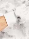 Худи хлопковая оверсайз oodji для женщины (белый), 15408012/47999/1223T