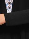 Кардиган свободного силуэта без застежки oodji #SECTION_NAME# (черный), 73212371-1B/48117/2900N - вид 5