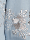Рубашка джинсовая с вышивкой oodji #SECTION_NAME# (синий), 16A09009/42706/7000P - вид 5