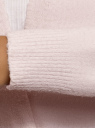 Кардиган прямого силуэта без застежки oodji #SECTION_NAME# (розовый), 63205254/48849/4000M - вид 5