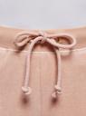 Брюки спортивные на завязках oodji для женщины (розовый), 16701052B/47883/4B00N