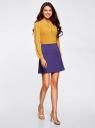 Юбка-трапеция с декоративными карманами oodji #SECTION_NAME# (фиолетовый), 11600427-1B/42250/7500N - вид 6