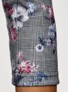 Платье облегающего силуэта на молнии oodji #SECTION_NAME# (серый), 14001105-8B/48480/2519F - вид 5