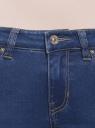 Джинсы скинни базовые oodji для женщины (синий), 12106145/45489/7500W