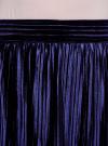 Юбка плиссе трикотажная oodji #SECTION_NAME# (синий), 24100036/47512/7900N - вид 5