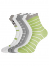 Комплект хлопковых носков (6 пар) oodji для женщины (разноцветный), 57102802T6/47469/19 - вид 2