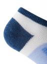 Носки короткие в полоску oodji для женщины (зеленый), 57102437/12263/6575S