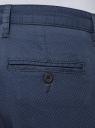 Брюки-чиносы из хлопка oodji для мужчины (синий), 2L150139M/46645N/7975G
