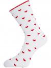 Комплект носков из 6 пар oodji для женщины (разноцветный), 57102901T6/47469/14