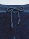 Брюки спортивные на завязках oodji #SECTION_NAME# (синий), 16701052B/47883/7900N - вид 4