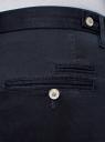 Брюки-чиносы из хлопка oodji для мужчины (синий), 2B150029M/19302N/7900N