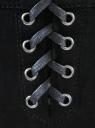 Джинсы oodji для женщины (черный), 12106047/38206/2900N
