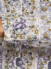 Блузка принтованная из вискозы oodji #SECTION_NAME# (разноцветный), 21412143-1/42127/1279E - вид 5