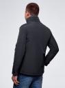 Куртка с накладными карманами oodji #SECTION_NAME# (синий), 1L411003M/34716N/7900N - вид 3