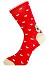 Комплект носков из 6 пар oodji для женщины (разноцветный), 57102901T6/47469/14 - вид 4